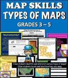 MAPS INTERACTIVE AND ANIMATED (Road, Topographic, State, Parish/ County Maps)