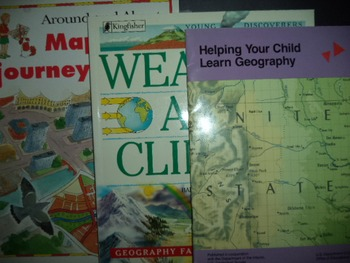 MAPS  WEATHER GEOGRAPHY   (Set OF 3)