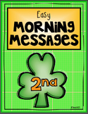2nd Grade March Morning Messages