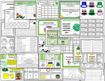 MARCH: A Month of Labs, STEM, Crafts, Games, & Printables for St. Patrick's Day