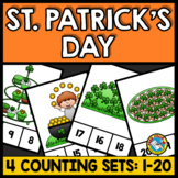 MARCH ACTIVITIES KINDERGARTEN (ST PATRICKS DAY COUNTING CE