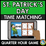MARCH ACTIVITY 2ND GRADE (TELLING TIME TO THE QUARTER HOUR) ST. PATRICK'S DAY