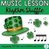 March Music Class Chant, Dance and Game with Rhythm Activities K-6
