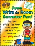 JUNE SUMMER FUN! - Write the Room - Sight Words - EASY & EDITABLE