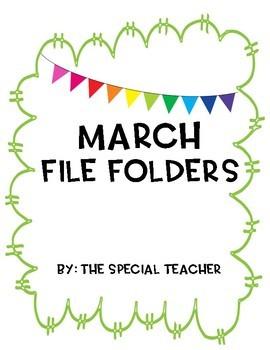 MARCH FILE FOLDERS