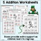 St. Patrick's Day 2-digit Addition & Subtraction with Regrouping