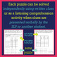MARCH Logic Puzzles for Listening Comprehension for SLPs
