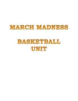 MARCH MADNESS BASKETBALL UNIT