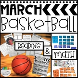 MARCH MADNESS UNIT! Basketball Themed Math & Literacy + SALT IN HIS SHOES