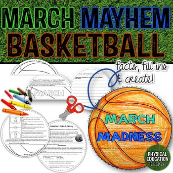 MARCH MAYHEM BASKETBALL FLIP BOOK