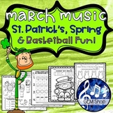MARCH Leprechauns St. Patrick's MUSIC Spring Activities Th