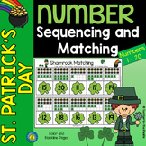 MARCH Math - Number Sequencing and Matching  1 - 20