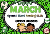 MARCH Mixed SPANISH Reading Skills  **100 TAKS CARDS**