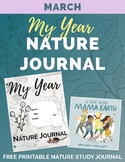 MARCH My Year Nature Journal Printable