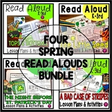 Spring Read Alouds Book Activities and Lesson Plans Bundle