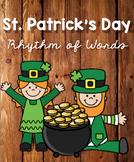 St. Patrick's Day Rhythm of Words K-2