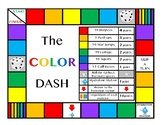 THE COLOR DASH FITNESS BOARD GAME