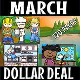 MARCH SCIENCE THREE DOLLAR  DEAL- 120 PAGES