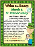 MARCH - ST. PATRICK'S DAY - Write the Room - Sight Words -
