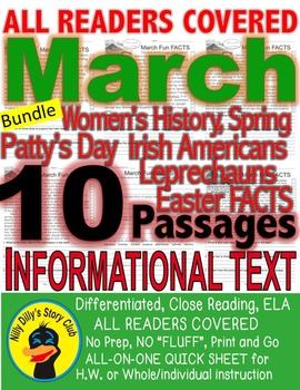 EASTER SPRING ST PATRICK 10 Passages 5 Levels EACH DAYLIGH