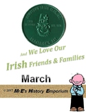 MARCH is Louisiana Irish-American Heritage Month