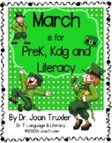 DISTANCE LEARNING: MARCH is for Preschoolers (PreK & Kinde