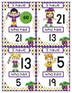 MARDI GRAS I HAVE WHO HAS NUMBER RECOGNITION GAME 0-25