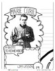 MARIE CURIE, WOMEN'S HISTORY, BIOGRAPHY, TIMELINE, SKETCHNOTES, POSTER