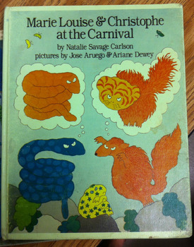 MARIE LOUISE & CHRISTOPHE AT THE CARNIVAL * Hardback Book