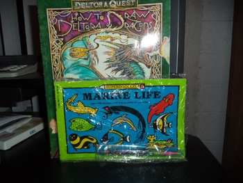 MARINE LIFE  DRAW DRAGONS   (SET OF 2)