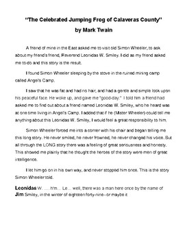 MARK TWAIN BUNDLE- ADAPTED VERSION- EASY READING LEVEL