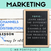 MARKETING- Channels of Distribution