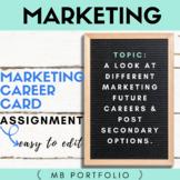 MARKETING- Exploring different Marketing Careers