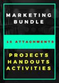 MARKETING HANDOUTS, PROJECTS & ACTIVITIES BUNDLE