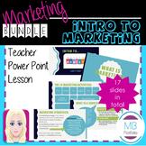 MARKETING:  Intro to Marketing BUNDLE-Marketing Terms