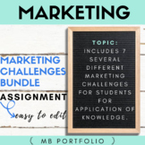 MARKETING - Marketing Challenges - Semester Group Projects