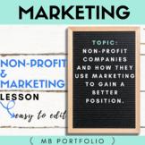 MARKETING- Non Profit Organizations & Marketing