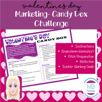 MARKETING:  Product Brand & Packaging Candy Box Challenge
