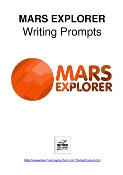 MARS EXPLORER writing prompts