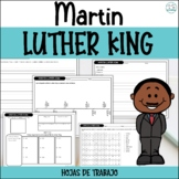 MARTIN LUTHER KING - ACTIVIDADES - MARTIN LUTHER KING SPANISH ACTIVITIES