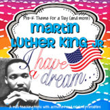 Martin Luther King Jr. Activities, Printables and Centers