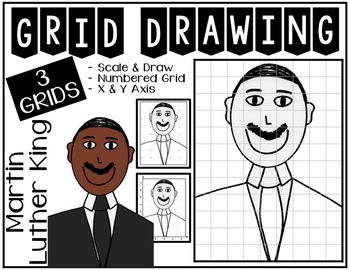MARTIN LUTHER KING Drawing Bundle