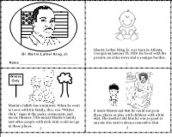 Martin Luther King Literacy - PDF