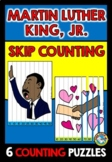 MARTIN LUTHER KING JR ACTIVITY GRADE 1 (MATH SKIP COUNTING PUZZLES)