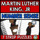 MARTIN LUTHER KING JR ACTIVITIES KINDERGARTEN (NUMBER SENS
