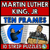MARTIN LUTHER KING JR ACTIVITY KINDERGARTEN (NUMBER SENSE CENTER) TEN FRAMES