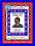 MARTIN LUTHER KING, JR BIOGRAPHY Book: Full-Color and Blac