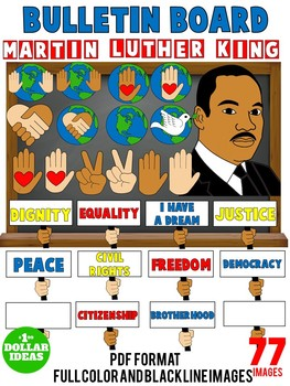 MARTIN LUTHER KING ACTIVITIES  BLACK HISTORY MONTH ACTIVITIES   BULLETIN BOARD