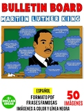 MARTIN LUTHER KING ACTIVITIES| BLACK HISTORY MONTH | PIZARÓN | FRASES FAMOSAS