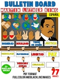 MARTIN LUTHER KING ACTIVITIES| BLACK HISTORY MONTH ACTIVITIES  | PIZZARÓN